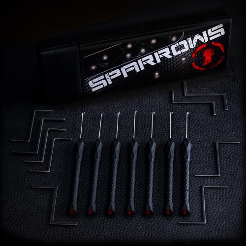 Sparrows Black Flags Lockpick set