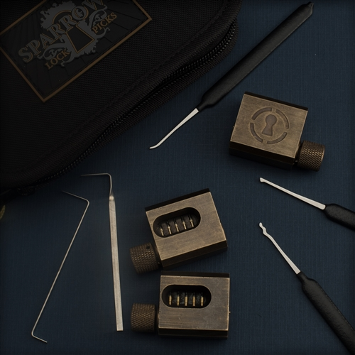 Sparrows Kick Start Lockpick set Night School