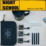 Sparrows Night School Lockpick Set