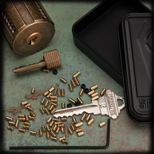 Sparrows Revolver practice lock