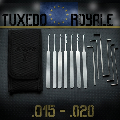 Sparrows Tuxedo EU set Lockpickwebwinkel