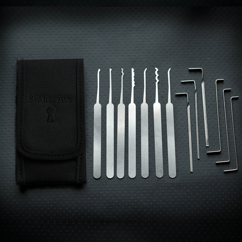 Sparrows Tuxedo Lockpick set LockpickWebwinkel