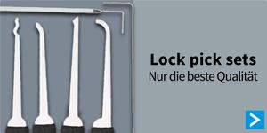 Nur de beste Qualitat Lock Pick Sets