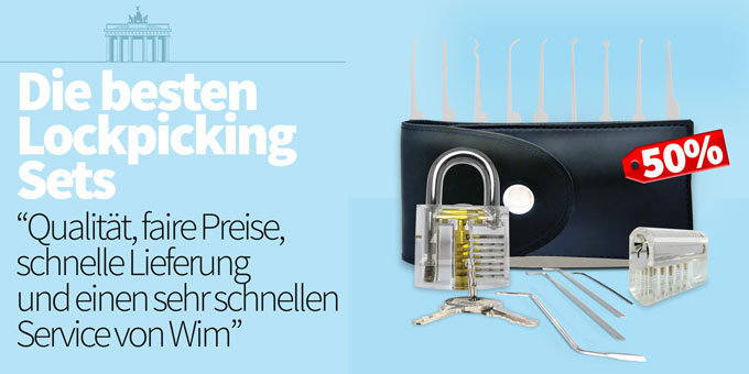 De Besten Lockpicking Sets Handy