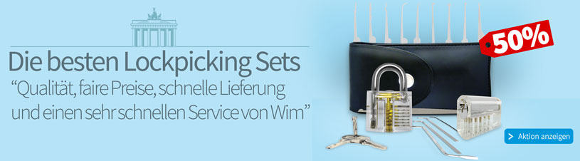 De Besten Lockpicking Sets