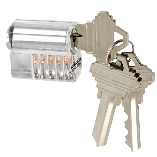 Brockhage Lockpick Oefenslot met Spool pins 2