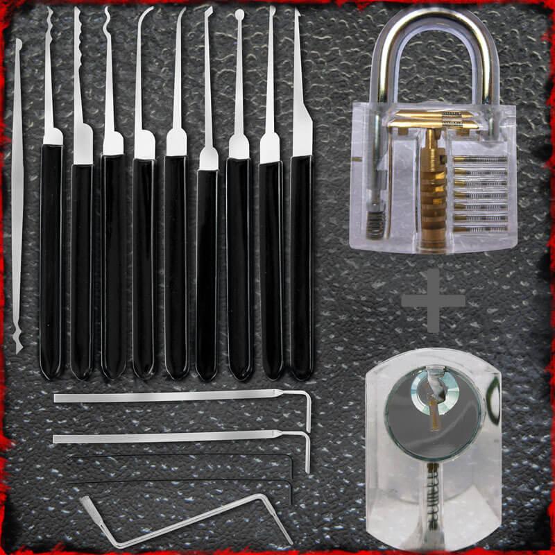 LPXS15 Lockpick Set met Oefensloten