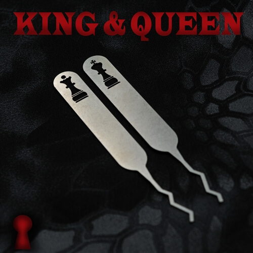 Sparrows King and Queen Lockpicks (2-tlg