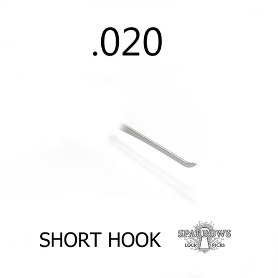Sparrows Short Hook .020