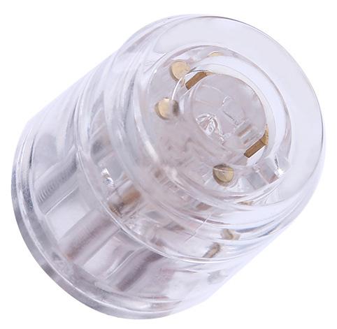 Transparantes Tubularschloss