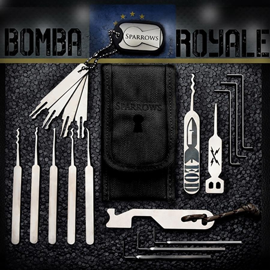 Sparrows Bomba Royale Satz (19-tlg.) Schwarz