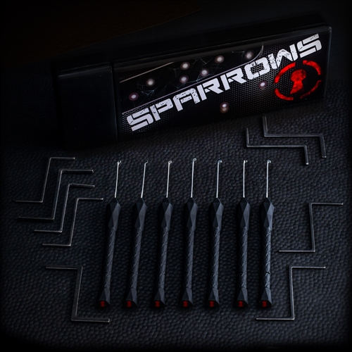 Sparrows Black Flag (16-tlg.)