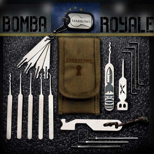 Sparrows Bomba Royale (19-tlg.) Coyote