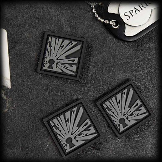 EOD Micro Patch Grau
