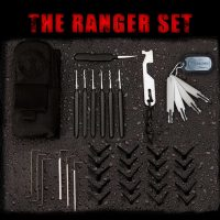 Sparrows Ranger Set (35-tlg.) Schwarz