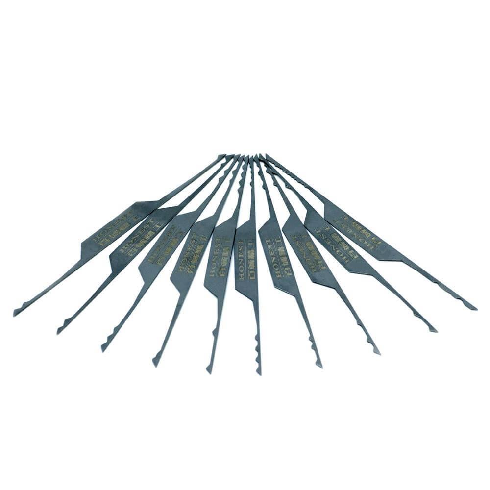 Doppelseitige Rakes (10-tlg.)