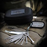 Sparrows Warded & Wafer Pick Set mit Etui