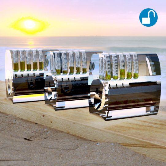 Übungsschlosser Paket Standard, Spool, Serrated Pins
